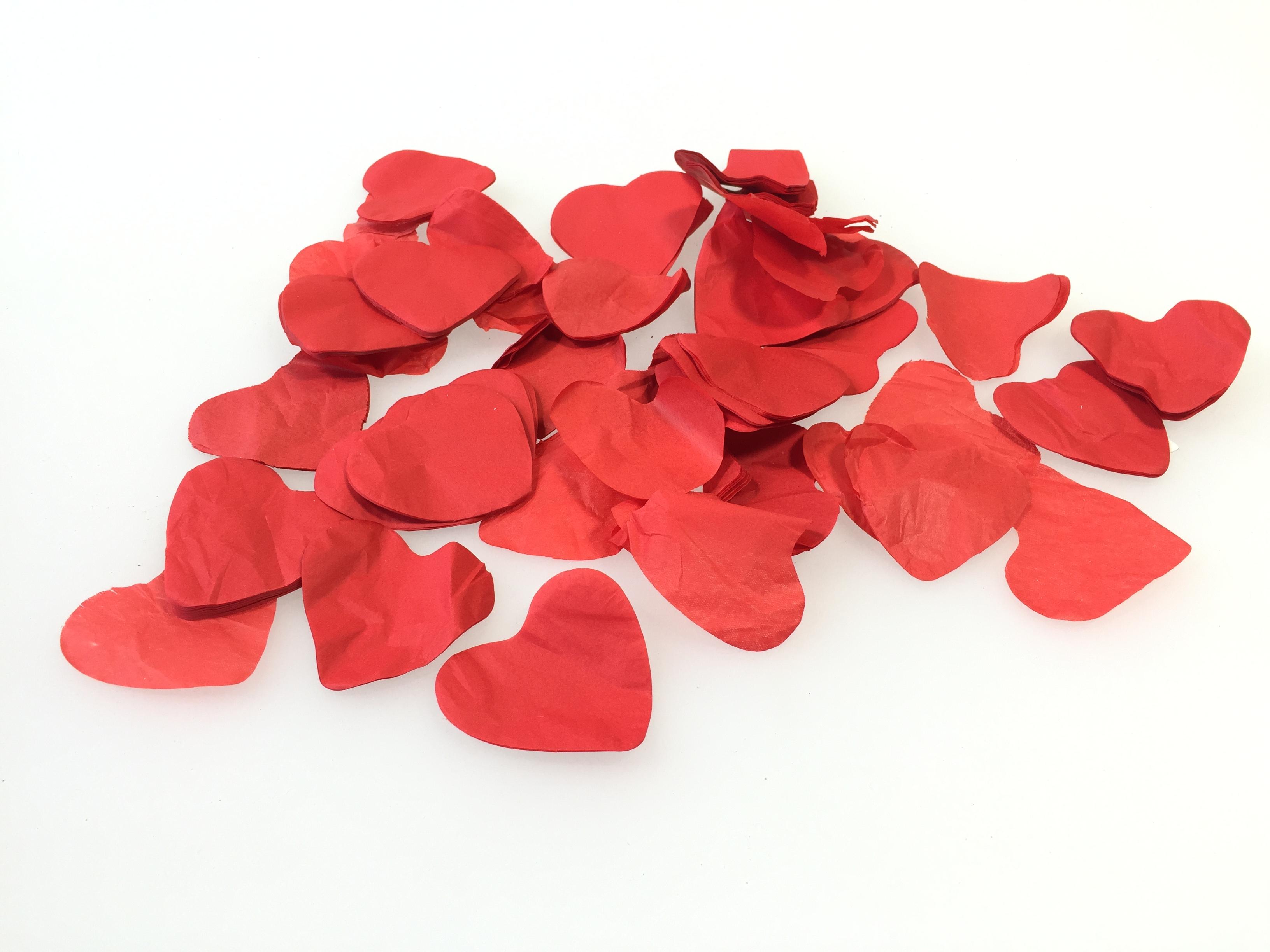 Hartjes confetti kopen